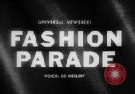 Image of fashion parade Budapest Hungary, 1966, second 5 stock footage video 65675046620