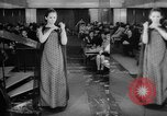 Image of fashion parade Budapest Hungary, 1966, second 9 stock footage video 65675046620