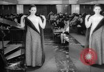 Image of fashion parade Budapest Hungary, 1966, second 10 stock footage video 65675046620