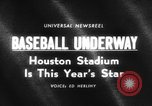 Image of The new Astrodome in Houston Texas Washington DC United States, 1965, second 1 stock footage video 65675046629
