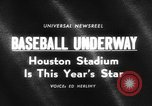 Image of The new Astrodome in Houston Texas Washington DC United States, 1965, second 3 stock footage video 65675046629