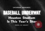 Image of The new Astrodome in Houston Texas Washington DC United States, 1965, second 5 stock footage video 65675046629