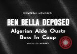 Image of Colonel Houari Boumedienne Algeria, 1965, second 4 stock footage video 65675046631