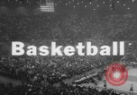 Image of basketball match United States USA, 1962, second 2 stock footage video 65675046641