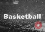 Image of basketball match United States USA, 1962, second 3 stock footage video 65675046641
