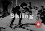 Image of skiing United States USA, 1962, second 2 stock footage video 65675046642