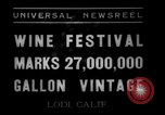 Image of wine festival Lodi California USA, 1937, second 11 stock footage video 65675046692
