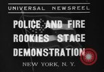 Image of police academy rookies New York City USA, 1937, second 1 stock footage video 65675046693