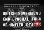 Image of King George United States USA, 1939, second 1 stock footage video 65675046697
