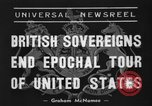 Image of King George United States USA, 1939, second 6 stock footage video 65675046697