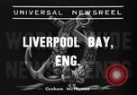Image of HMS Thetis submarine rescue operation Liverpool bay England, 1939, second 5 stock footage video 65675046698