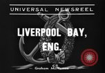 Image of HMS Thetis submarine rescue operation Liverpool bay England, 1939, second 7 stock footage video 65675046698
