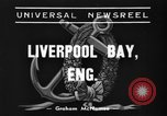 Image of HMS Thetis submarine rescue operation Liverpool bay England, 1939, second 8 stock footage video 65675046698
