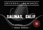 Image of Annual California Rodeo Salinas California USA, 1939, second 3 stock footage video 65675046710