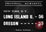 Image of College basketball game New York United States USA, 1939, second 1 stock footage video 65675046716