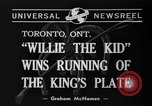 Image of Willie the Kid Toronto Ontario Canada, 1940, second 2 stock footage video 65675046721