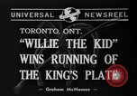 Image of Willie the Kid Toronto Ontario Canada, 1940, second 3 stock footage video 65675046721