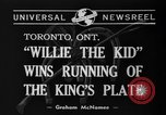 Image of Willie the Kid Toronto Ontario Canada, 1940, second 4 stock footage video 65675046721