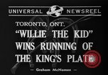 Image of Willie the Kid Toronto Ontario Canada, 1940, second 6 stock footage video 65675046721