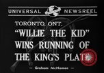 Image of Willie the Kid Toronto Ontario Canada, 1940, second 7 stock footage video 65675046721