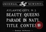 Image of Miss America Atlantic City New Jersey USA, 1940, second 3 stock footage video 65675046722