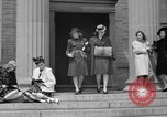 Image of designer clothes New York United States, 1940, second 4 stock footage video 65675046725