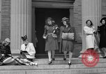 Image of designer clothes New York United States, 1940, second 5 stock footage video 65675046725
