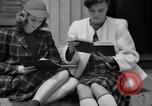 Image of designer clothes New York United States, 1940, second 10 stock footage video 65675046725