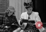Image of designer clothes New York United States USA, 1940, second 11 stock footage video 65675046725