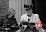 Image of designer clothes New York United States USA, 1940, second 12 stock footage video 65675046725