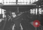 Image of Launch of USS Hornet CV-8 Newport News Virginia USA, 1940, second 4 stock footage video 65675046730