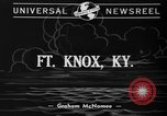 Image of troops cross river Front Knox Kentucky USA, 1940, second 2 stock footage video 65675046732