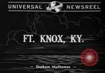 Image of troops cross river Front Knox Kentucky USA, 1940, second 3 stock footage video 65675046732