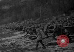 Image of troops cross river Front Knox Kentucky USA, 1940, second 5 stock footage video 65675046732