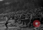 Image of troops cross river Front Knox Kentucky USA, 1940, second 7 stock footage video 65675046732