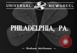 Image of Friday 13th Club Philadelphia Pennsylvania USA, 1940, second 3 stock footage video 65675046733
