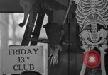 Image of Friday 13th Club Philadelphia Pennsylvania USA, 1940, second 11 stock footage video 65675046733