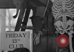 Image of Friday 13th Club Philadelphia Pennsylvania USA, 1940, second 12 stock footage video 65675046733