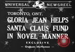 Image of Gloria Jean Toronto Ontario Canada, 1940, second 1 stock footage video 65675046737