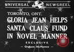 Image of Gloria Jean Toronto Ontario Canada, 1940, second 3 stock footage video 65675046737