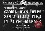 Image of Gloria Jean Toronto Ontario Canada, 1940, second 6 stock footage video 65675046737