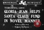 Image of Gloria Jean Toronto Ontario Canada, 1940, second 7 stock footage video 65675046737