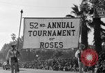 Image of Rose bowl parade 1941 Pasadena California USA, 1941, second 9 stock footage video 65675046748