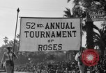 Image of Rose bowl parade 1941 Pasadena California USA, 1941, second 10 stock footage video 65675046748