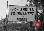 Image of Rose bowl parade 1941 Pasadena California USA, 1941, second 11 stock footage video 65675046748