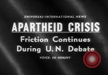 Image of apartheid crisis South Africa, 1960, second 3 stock footage video 65675046752