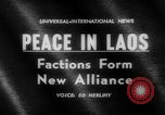 Image of coalition government Laos, 1962, second 5 stock footage video 65675046758