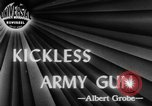 Image of kickless rifles Fort Benning Georgia USA, 1944, second 2 stock footage video 65675046770