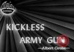 Image of kickless rifles Fort Benning Georgia USA, 1944, second 4 stock footage video 65675046770