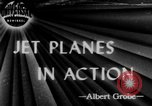 Image of Gloster Meteor jet planes United Kingdom, 1944, second 1 stock footage video 65675046771
